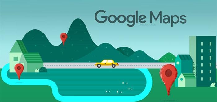 Google Maps: webversie brengt nieuw Material Theme design