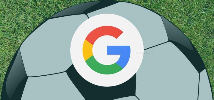 Google app klaar voor WK voetbal 2018 met toffe 'pin live score' en meer