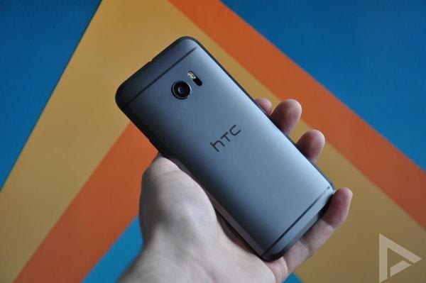 HTC 10 achterkant