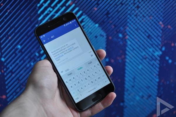 HTC 10 sms toetsenbord