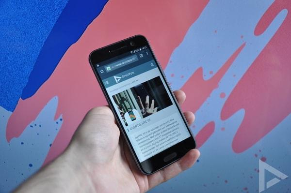 HTC 10 internet