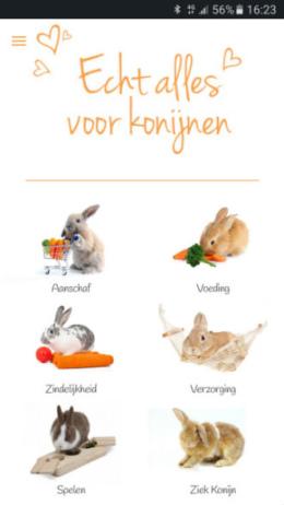 konijnen app