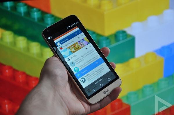 LG G5 multi-tasking