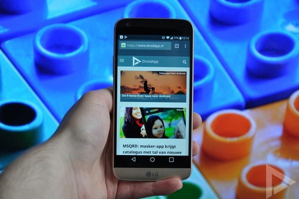 LG G5 Android 8.0 Oreo