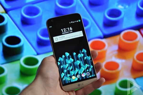 LG G5 lockscreen