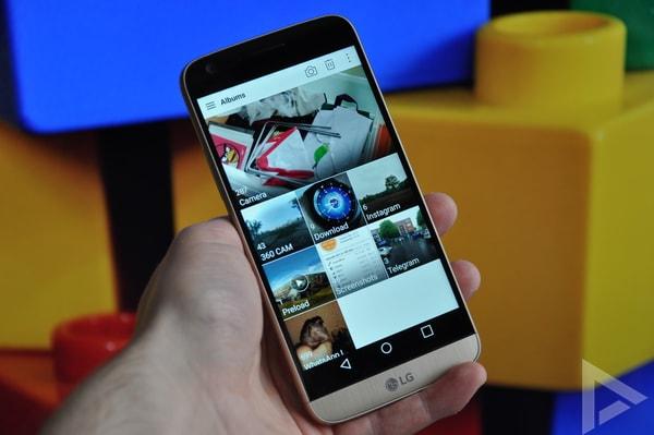LG G5 galerij