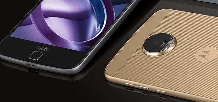 Moto Z krijgt vanaf deze week de update naar Android 7.0 Nougat