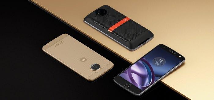 Lenovo introduceert modulaire Motorola Moto Z en Moto Z Force