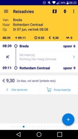 NS Reisplanner Xtra 4.4