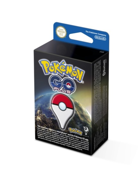 Pokémon GO Plus verpakking