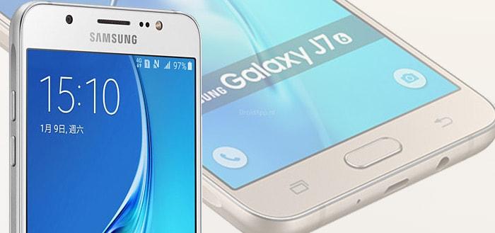 Android 8.1 Oreo bereikt Samsung Galaxy J7 (2016)