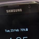 Samsung Galaxy S7 Edge LED