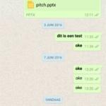 WhatsApp Quote message