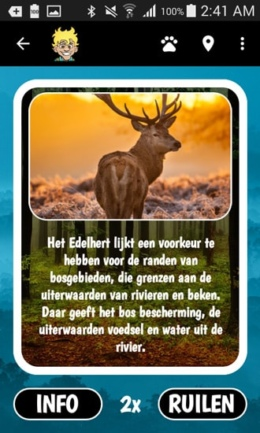 Staatbosbeheer Perfect Earth Animals app