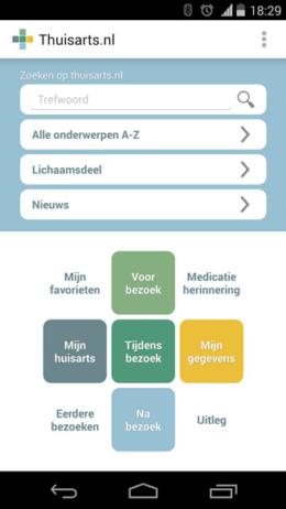 Thuisarts app