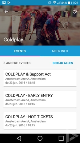 Ticketmaster app
