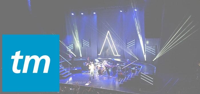 Ticketmaster brengt Android-app uit: zoek naar concerten en evenementen
