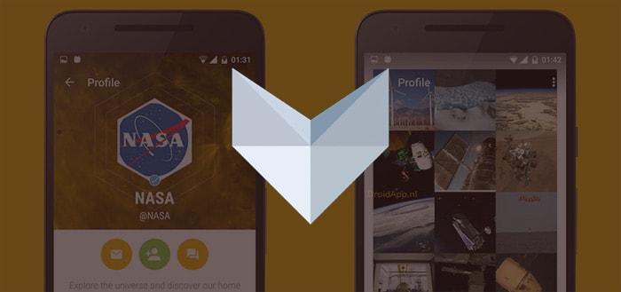 Vapor: een strak ontworpen Twitter-app voor Android