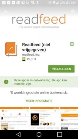 Google Play Store Vroegtijdige toegang