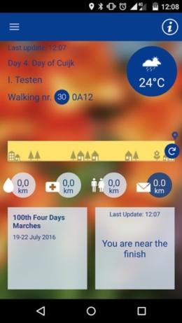 4Walker 2016 app