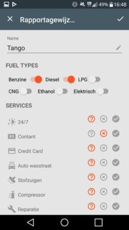 Fuelio 6.0 tankstation