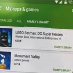 Google Play Family Library nu beschikbaar: deel je aankopen met je familie