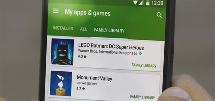 Google Play Family vanaf nu in Nederland: deel apps, games en films met vrienden en familie