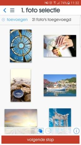 HEMA Fotoservice app