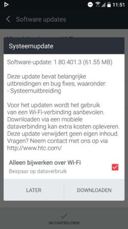 HTC 10 update 1.80.401.3