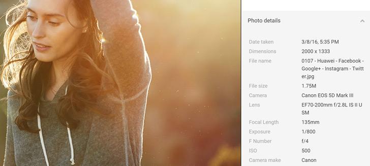 Huawei P9 foto promotie