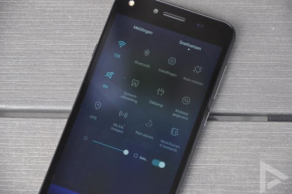 Huawei Y5 II sneltoetsen