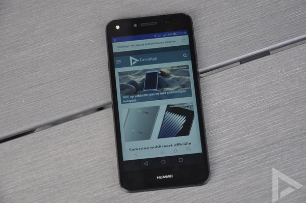 Huawei Y5 II internet