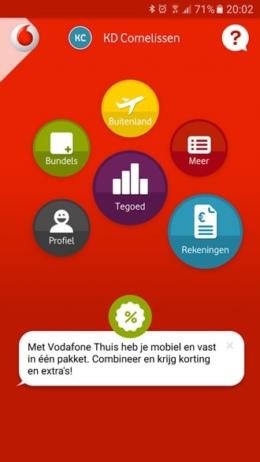 My Vodafone app