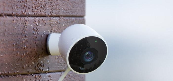 Nest komt met 'Cam Outdoor': een moderne beveiligingscamera voor buiten
