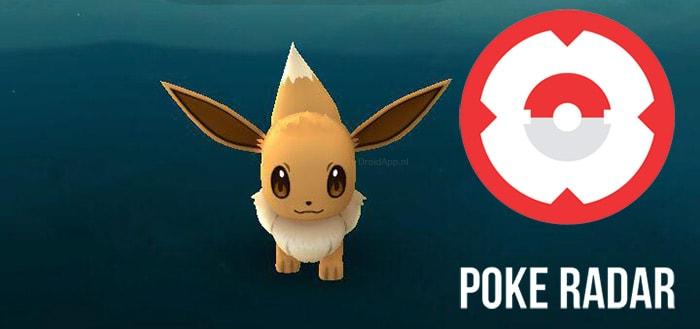 """Poke Radar app geeft antwoord op de vraag; """"Waar zitten Pokémons?"""""""
