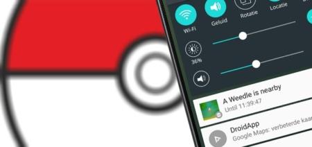 PokeDetector: notificatie wanneer een Pokémon in de buurt is