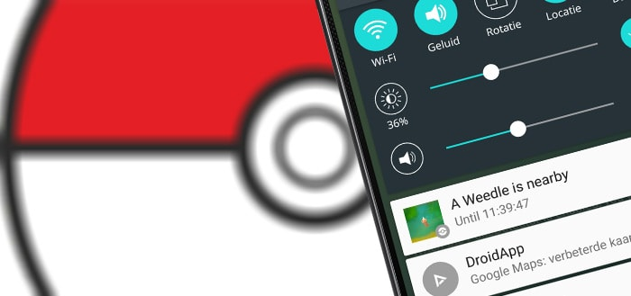 PokeDetector: notificatie wanneer een Pokémon in de buurt is