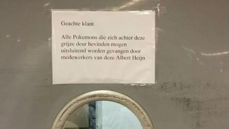Pokémon GO Albert Heijn
