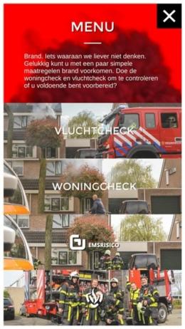 Brandweer Rookalarm app