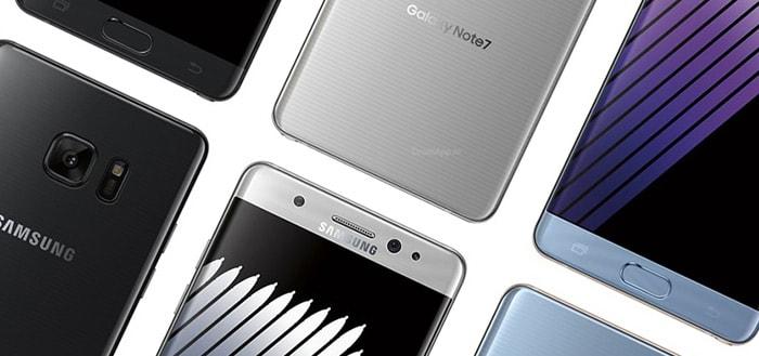 Samsung stopt permanent met Galaxy Note 7: komt nooit meer terug op de markt
