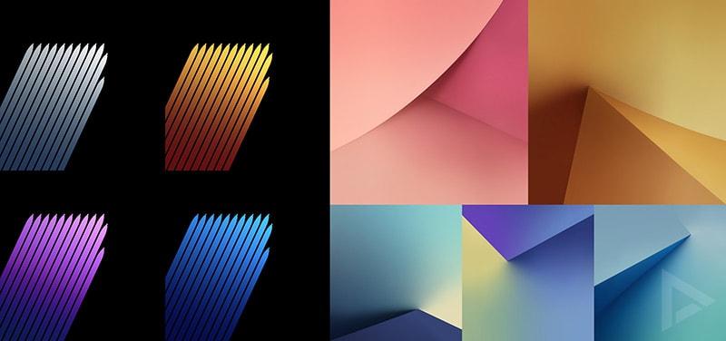 Download Die Original Wallpaper Des Samsung Galaxy S7: Samsung Galaxy Note7 Wallpapers Uitgelekt (download