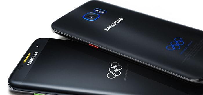 Samsung komt met Galaxy S7 Edge Olympische Spelen-editie