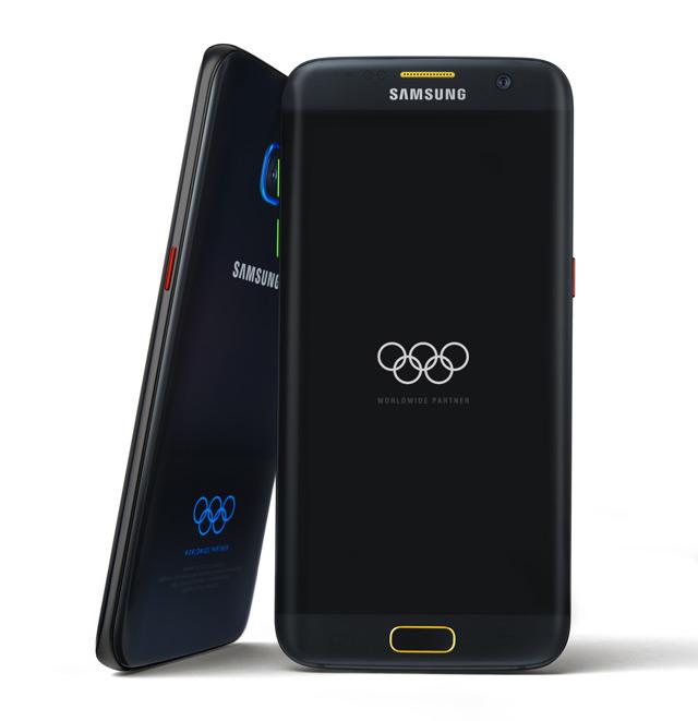 Samsung Galaxy S7 Edge Olympische Spelen