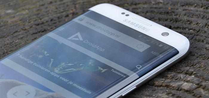 'Samsung Galaxy S-serie voortaan alleen nog als Edge-versie'