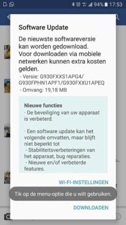 Samsung beveiligingsupdate juli