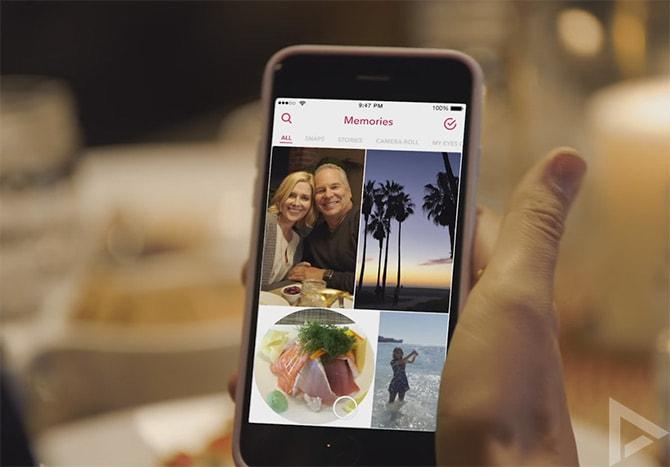 Snapchat Memories