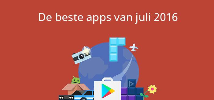 De 7 beste apps van juli 2016