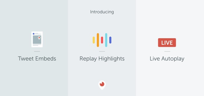 Periscope introduceert Replay Highlights en Live Autoplay