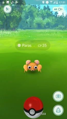 Pokémon GO vangen