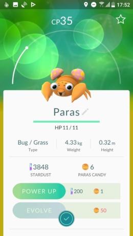 Pokémon GO evolueren